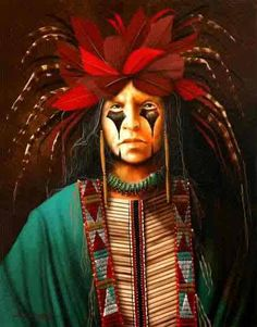 Though we are powerful and strong, and we know how to fight, we do not wish to fight -CHEROKEE ADAGE Artist: JD Challenger