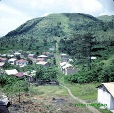 Annobón. Parte moderna del poblado