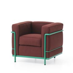 Le Corbusier / LC2 color chair for Cassina