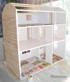 How to make dollhouse sidings.