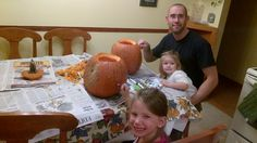 Brandon & his girls - Halloween 2012