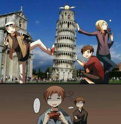 Haha!!Romano tức giận rùi kìa