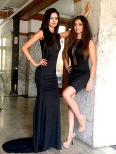 Mahlagha jaberi wd her sis rahi jaberi Fabulous Dresses, Sexy Dresses, Cute Dresses, Iranian Models, Persian Beauties, Fashion Beauty, Girl Fashion, Persian Girls, Hot Hair Styles