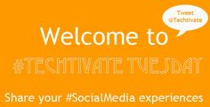 Share your #SocialMedia experiences in our #TechtivateTuesday competition. http://techtivate.co.uk/tuesday.php  #Biz #Startup #Web