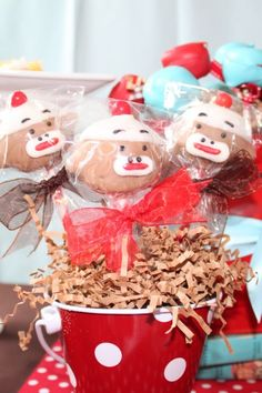 PARTY ON A BUDGET: A Sock Monkey Baby Shower for $100   Catch My Party