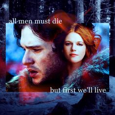 Ygritte & Jon Snow  I was hoping the young girl would end up with jon snow on the throne. Even though half sister.