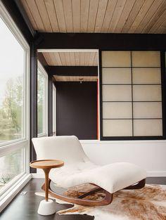 modern renovation aqua lair chaise longue master bedroom