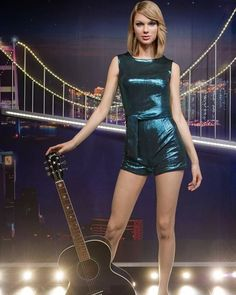 The new Taylor Swift wax figure in Hong Kong!