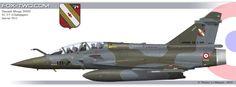 Dassault Mirage 2000D de l'EC 1/3 Navarre
