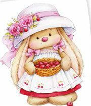Raise Great Kids With These Proven Tips. Tatty Teddy, Teddy Bear, Baby Painting, Fabric Painting, Bunny Art, Cute Bunny, Cartoon Pics, Cute Cartoon, Cute Images