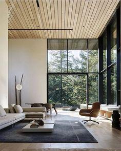 Trendy home living room decor creative Minimalist Interior, Modern Interior Design, Luxury Interior, Interior Design Inspiration, Luxury Furniture, Design Ideas, Interior Lighting, Contemporary Interior, Furniture Ideas