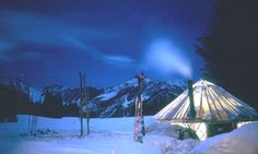Skiing between yurts in your own private Idaho   Travel   The Guardian