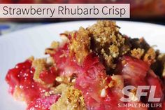 ... on Pinterest | For life, Strawberry rhubarb crisp and Puffed quinoa