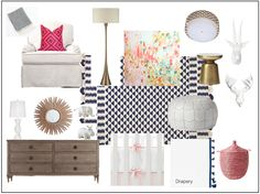 danielle oakey interiors: Nursery E-Design