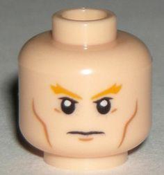 LEGO DC Super Hero Aquaman Minifigure Light Flesh Head 76000