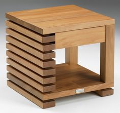 Kauri/Rimu side table