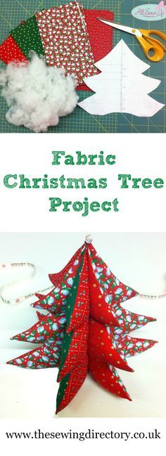 Sew a fabric Christmas tree with this great free tutorial . - - Sew a fabric Christmas tree with this great free tutorial … DIY decorations Sew a fabric Christmas tree with this great free tutorial Fabric Christmas Decorations, Christmas Fabric Crafts, 3d Christmas Tree, Christmas Patchwork, Christmas Sewing Projects, Handmade Christmas Tree, Fabric Ornaments, Christmas Tree Pattern, Diy Craft Projects