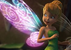 Tink and her glowing wings