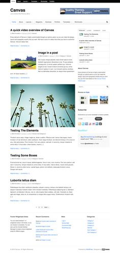 Canvas by Woothemes