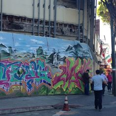 New mural at the old Pagota Theater in North Beach. North Beach, Family Life, Theater, The Neighbourhood, San Francisco, Old Things, Places, Painting, Art