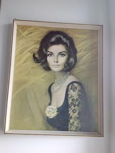 Nicola. Another fave from Louis shabner. Retro vintage lady print.