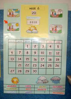 Resultado de imagem para quadros do tempo para jardim de infancia