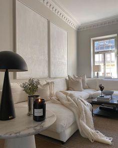 Home Decor Inspiration, Home Living Room, Interior, Home Remodeling, Cheap Home Decor, House Interior, Home Interior Design, Interior Design, White Living Room