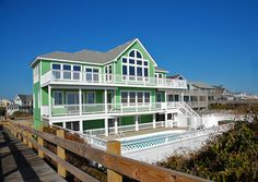 Seas and Quackers - B100 is an Outer Banks Oceanfront vacation rental in Tuckahoe Duck NC that features 9 bedrooms and 8 Full 2 Half bathrooms. This rental has a private pool, an elevator, and a pool table among many other amenities. Click here for more.