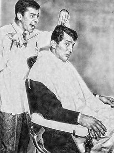 """Jerry Lewis y Dean Martin en """"Un fresco en apuros"""", 1955"""