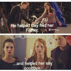 #SwtichedAtBirth - Emmett help Bay find her father Angelo and helpled her say goodbye.