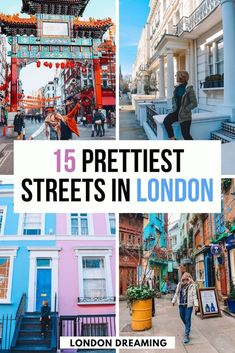 London is a beautiful city, but there are some streets that are especially stunning. I've put together a compilation of the 15 prettiest streets in London, read more to discover them all! Insider guides to London Street Markets Europe Travel Guide, Travel Guides, Travel Abroad, Travel Advice, Places In Europe, Places To Travel, Travel Destinations, London Travel, Travel Uk