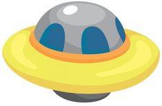 Ufo spaceships vector cartoons