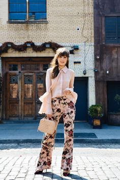 Floral Pants from th