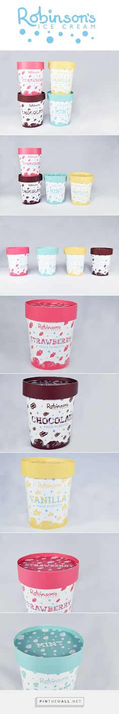 Robinson's Ice Cream by Pin curated by Claire Morgan. #SFields99 #packaging #design
