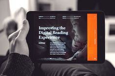 Verso is a digital magazine featuring 7 articles and interviews about the future of reading experience.
