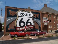 Panoramio - Photo of Backside of the Route 66 Association of Illinois Hall of Fame and Museum