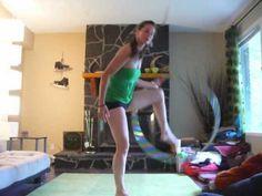 (3) The sliding door hoop trick tutorial - YouTube