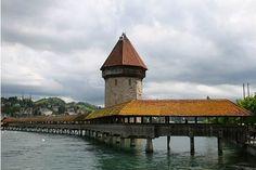 Şapel Köprüsü, Luzern, İsviçre