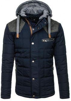 Pánská bunda - Simon, modrá Canada Goose Jackets, Winter Jackets, Fashion, Winter Coats, Moda, Winter Vest Outfits, Fashion Styles, Fashion Illustrations