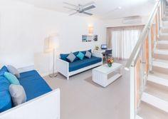 Apartment 1-4 Personen ca 98qm Selbstversorgung Schlafzimmer mit einem Doppelbett Schlafzimmer mit zwei Einzelbetten Wohnzimmer Küche komplett ausgestattet Bad mit Dusche und WC TV und Telefon Safe Schreibtisch Klimaanlage Internet- W-lan gratis Bügeleisen  ab 114€ pro Apartment und Tag