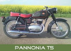 Pannonia T5 Vespa Motorcycle, Motorcycle Design, Old Motorcycles, Old Bikes, Illustrations And Posters, Bobber, Motor Car, Hungary, Motorbikes