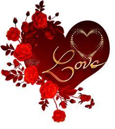 Imagen De Amor De Rosas Con Movimiento