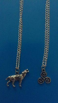 Teen Wolf inspiré Charm Necklace : Un charme singulier