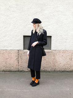 Get this look: http://lb.nu/look/8159657  More looks by Louise Amelie Whitehouse: http://lb.nu/louisewhitehouse  Items in this look:  Vintage Sailor, Keepsake The Label Coat, Mango Bag, Mango Pants, Weekday Socks, Vagabond Shoes   #artistic #dapper #minimal