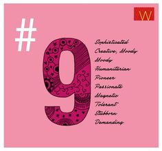My expression number in numerology is 9 ... this fits me like a glove  #Numerology  Are you a #9?