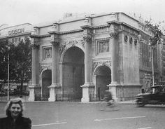 Marble Arch & Odeon Theatre ... London 1947 by alanpaterson51, via Flickr