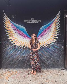 Here's How to Find the Wynwood Wings in the Wynwood district, Miami, USA