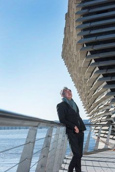 Architect: Kengo Kuma & AssociatesExecutive Architect: James F Stephen ArchitectsClient: Dundee City Council Structural Engineer:. Vienna House, Whiskey Tour, Dundee City, Scotland Vacation, V & A Museum, Kengo Kuma, Amazing Buildings, Japanese Architecture, House Party