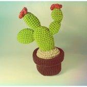 FACIENDO COSETAS Cactus ganchillo