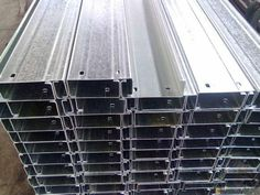 Sell GI steel C profile purlin. – Steel projects,prefab buildings and steel materials